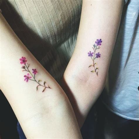 45 matching sister tattoo designs that redefine your bonding