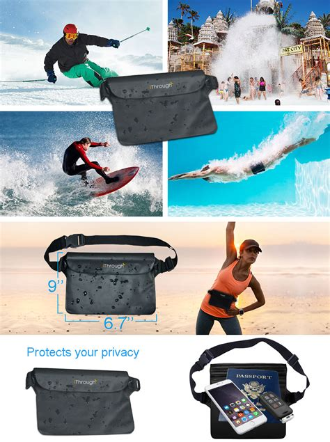 amazoncom waterproof phone caseithrough ultra universal
