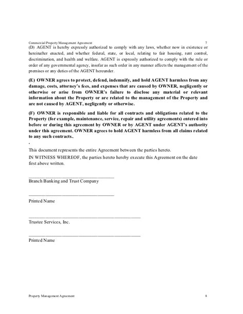 property management agreements tsi residential propertyl management agreement