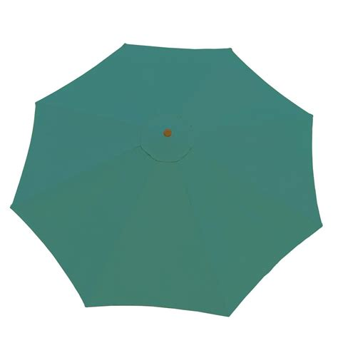 patio umbrella and base oakland living 9 ft patio umbrella in green and patio