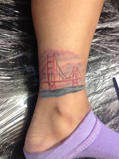 golden gate bridge tattoo designs golden gate bridge san francisco california tatoo