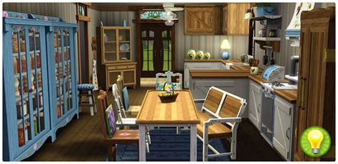 charmingly simple kitchen collection store the sims 3
