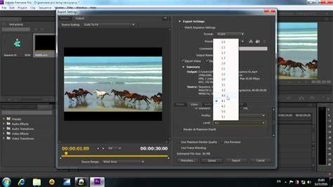 adobe premiere cs6 export 720p hd export setting for youtube premiere pro cs6 youtube