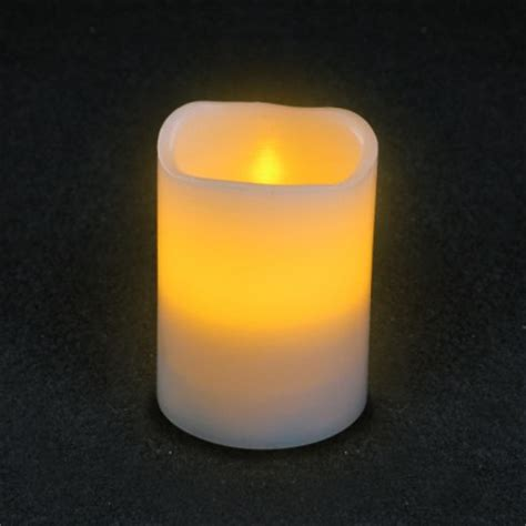 flickering led timer candles 10cm