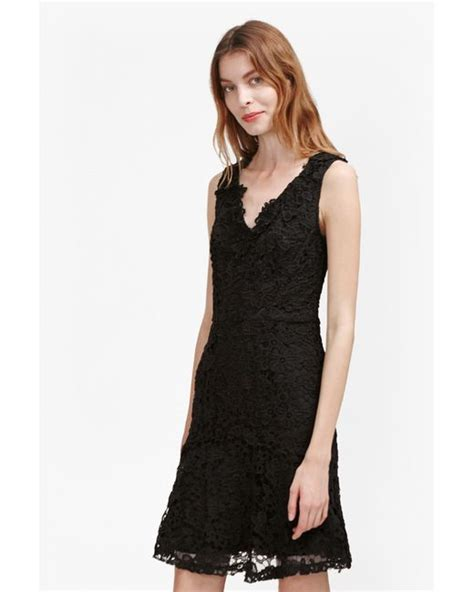 evening dresses dress with peplum hem and lace inserts french connection bloomsbury lace peplum hem dress in