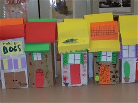Paper Bag House Craft - paper bag houses stem education