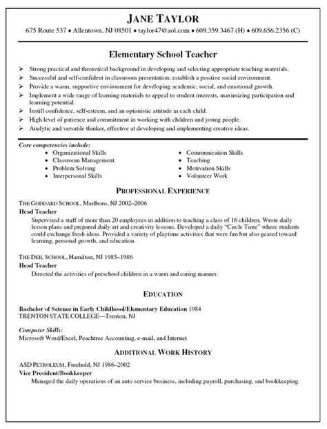 Resumes For Teaching 40 Best Resume Exles Images On