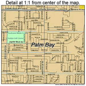 where is palm bay florida on the map florida palm bay florida map 1254000