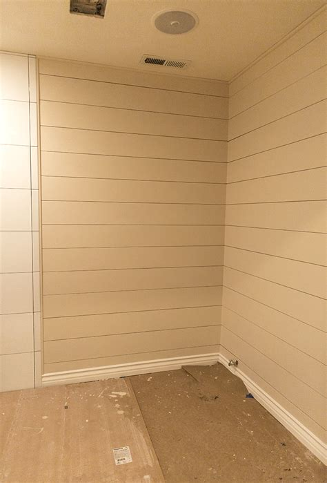 Inexpensive Shiplap Diy Shiplap Tutorial The Easy And Inexpensive Way