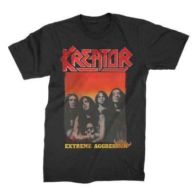 Tshirt Kreator Black aggression t shirt black shop the kreator