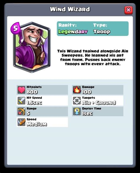 Topi Clash Royale 2 Ktp Clr02 wind wizard www pixshark images galleries with a bite