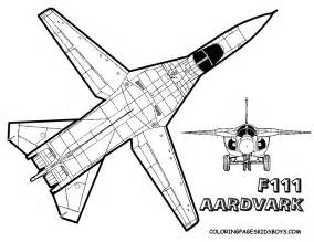 Mighty Military Airplane Coloring  Fighter Jets Free sketch template