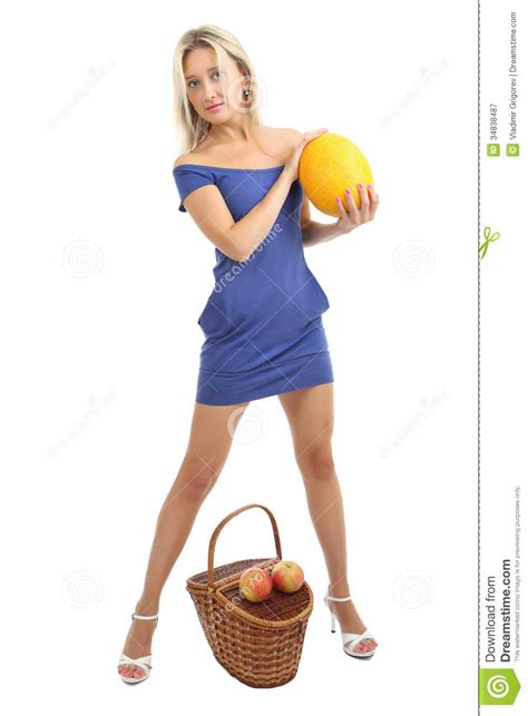 how should a 34 year old dress girl 34 years old in blue skin tight dress with melon
