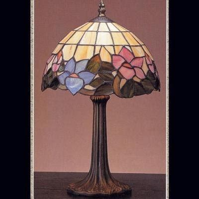 blue stained glass table ls blue pink stained glass table l flowers 9 x 17 quot