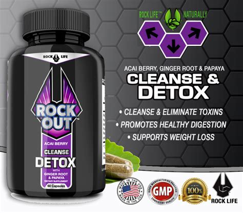 Rock Detox by Rock Out Detox And Cleanse 3 Pack
