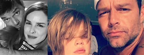 Picoteando el Espectaculo: Ricky Martin posa con bella ... Mama De Los Hijos De Ricky Martin