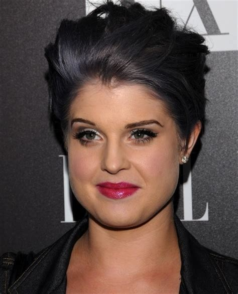 black grey hair delightful dark grey hair as seen on kelly osbourne grey