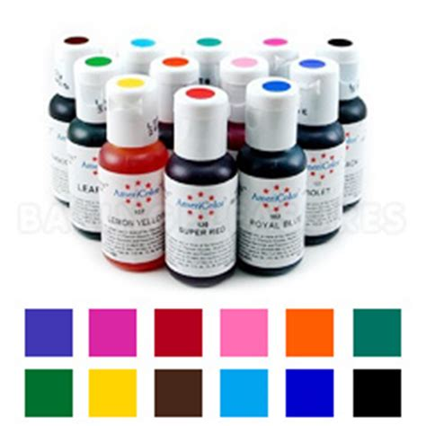 Best Seller Fuchsia Chefmaster Food Coloring Pewarna Makanan americolor soft gel paste student colour kit 1