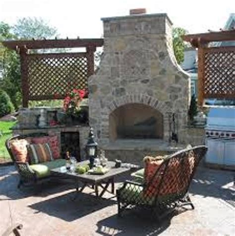 How To Build An Outdoor Fireplace From Scratch by Pits