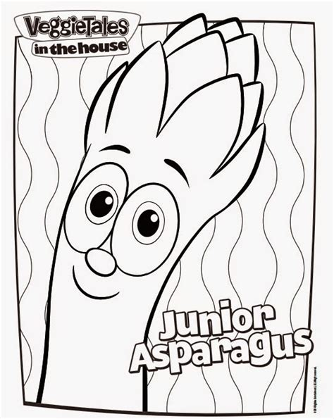 veggietales characters coloring pages www imgkid com