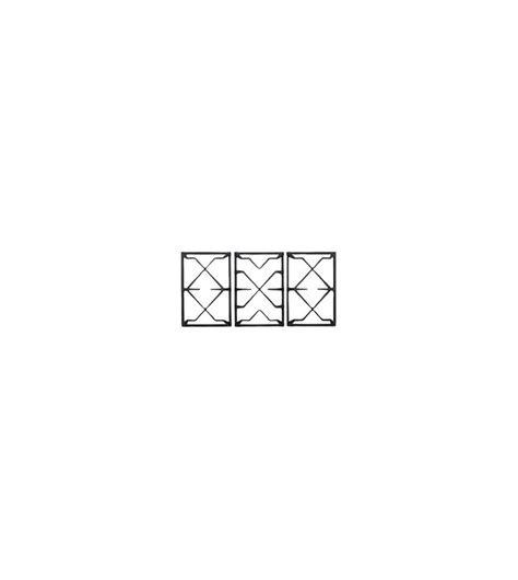 griglie in ghisa per piani cottura smeg confezione griglie ggb90 in ghisa piani cottura