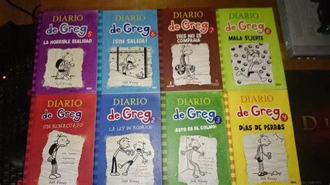 saga diario de greg 8 libros nuevos 1 432 00 en