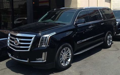 los angeles luxury exotic car rental cadilllac escalade