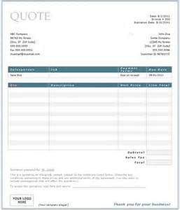 free construction quote template free construction quote template free contractor estimate