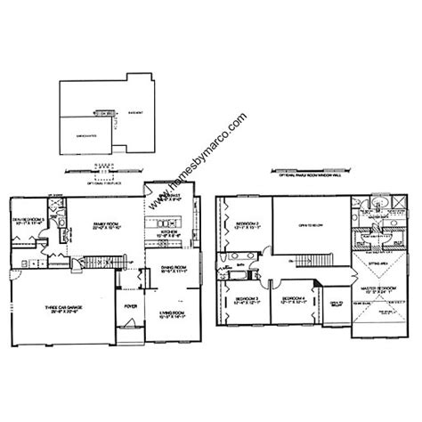 kimball hill homes floor plans ultima model in the canterbury estates subdivision in