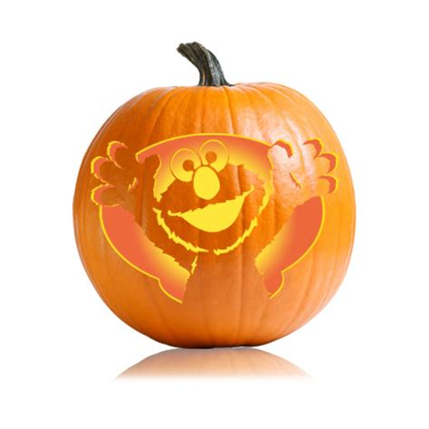 elmo pumpkin template sesame elmo pumpkin carving pattern ultimate