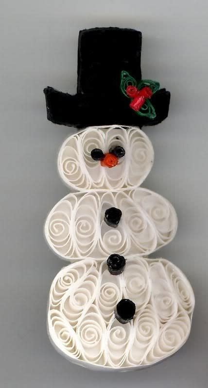 quilling snowman tutorial 98 best quilling paper craft images on pinterest paper