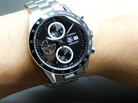 Tag Heuer Formula 1 Calibre 16 White Silver Brown Leather For tag heuer calibre 16 automatic chronograph hi