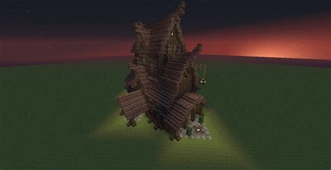 Skyrim Inspired Building Minecraft Project