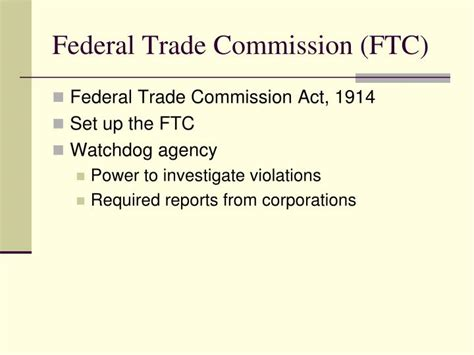 section 5 federal trade commission act ppt teddy roosevelt s square deal powerpoint