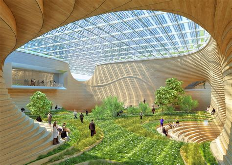 Most Popular Interior Design Blogs by Vincent Callebaut S Wooden Orchids Reimagines The Shopping