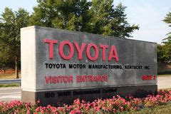 Georgetown Ky Toyota Georgetown Ky Circa January 2015 Entrance To Toyota S