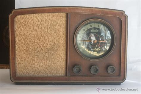 imagenes radios antiguas preciosa radio antigua de madera marca iberia a comprar