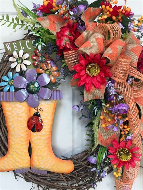 1110 best spring and summer wreaths images on pinterest spring 17 best images about spring summer wreaths on pinterest