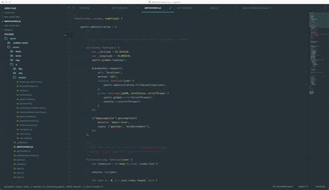 material theme sublime text 3 github github artifactdev theme dark material