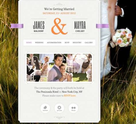 create wedding invitation website create a responsive wedding website with just