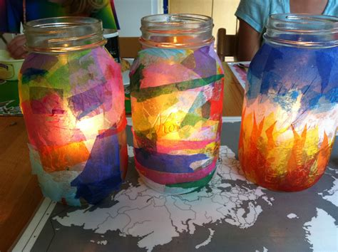 How To Make Tissue Paper Lanterns - shine a light tissue paper lanterns mango theory