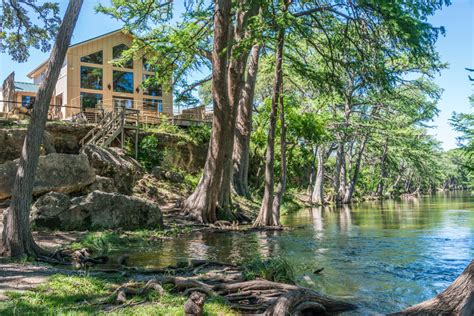 Hill Country River Cabins by Outdoor Wedding Venue On The Frio River River