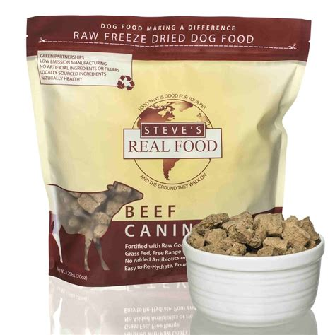 steves dogs steve s real food beef recipe freeze dried food naturalpetwarehouse