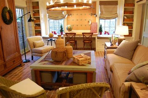 a true family room home ideas for southern charm southern living idea house in senoia georgia family room