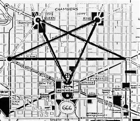 washington dc map satanic ken raggio teaches lucifer will chaos before god