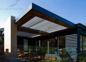 Louvered Pergola Roof by 1000 Ideas About Retractable Pergola On Pinterest