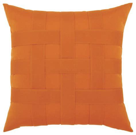 elaine smith basketweave tuscan pillow modern outdoor