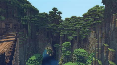 Really Cool Bedroom Ideas minecraft mountain oasis wallpaper minecraft wallpaper