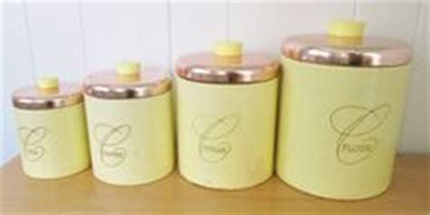 yellow kitchen canisters tea coffee sugar jars flour country kitchen tea coffee and sugar canisters each with a