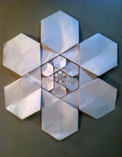 Origami Fractals - robby kraft